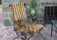 Кованное кресло