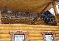 Кованный балкон